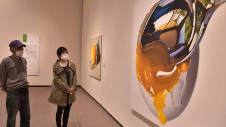 緻密、リアルな絵画 茨城県近代美術館 上田薫展が開幕